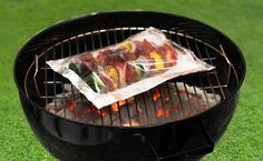 Grill kebabs and take the guessing out of accurate cook-times.  Purchase them already within Ready Chef Go Bags.  Then follow instructions for fast, easy-to-use cooking methods...and voila!  Just right in no-time!