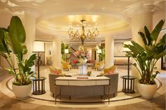 The Beverly Hills Hotel has served as design inspiration for years. Check out the hotel's decor here.