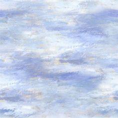 cielo - sky wallpaper | Designers Guild