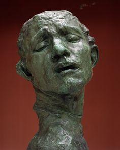 Head of Pierre de Wissant / Auguste Rodin / c. 1908 / bronze