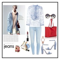 """""""She's still got it"""" by soniaaicha on Polyvore featuring Paige Denim, Marc by Marc Jacobs, Ermanno Scervino, Steve Madden, Bobbi Brown Cosmetics, Victoria Beckham and Yves Saint Laurent"""