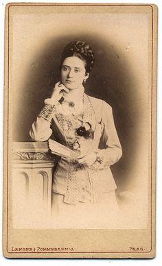 photographer: Langer & Pommerrenig - Prag ca:1880s