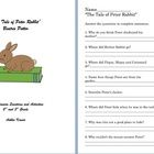 "What a great way to start spring with ""The Tale of Peter Rabbit"". These worksheets will cover comprehension at the end of the story and offer a few..."