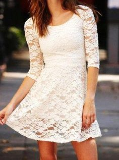 love this lace dress!