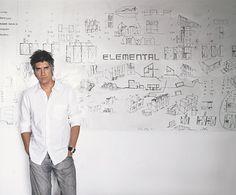 Chilean architect Alejandro Aravena is the 2016 Pritzker Architecture Prize laureate