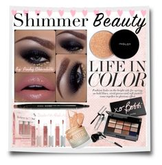 """""""Shimmer Beauty"""" by pinky-chocolatte ❤ liked on Polyvore featuring beauty, It Cosmetics, Bobbi Brown Cosmetics and Inglot"""