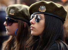 Guerreiras sérvias.