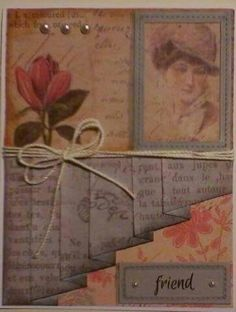 Pleated Skirt Card