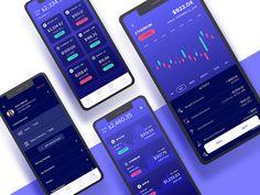 Crypto mobile concept