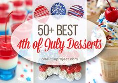 Desserts and Sweets Archives - Page 9 of 13 - One Little Project 4th Of July Desserts, How To Make Diy, Summertime, Sweets, Breakfast, Projects, Food, Morning Coffee, Log Projects