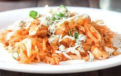Buffalo Chicken Spaghetti Squash?! Yes please!