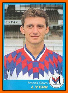 Franck+GAVA+-+Panini+Olympique+Lyonnais+1995