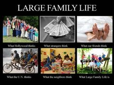 Funny answers to questions about your big family. I only have 3 but admire those who have the courage and everything else to have a big family. Big Family Quotes, Family Humor, Family Love, Happy Family, The Moment You Realize, Family Problems, Step Kids, Step Children, Parenting Hacks