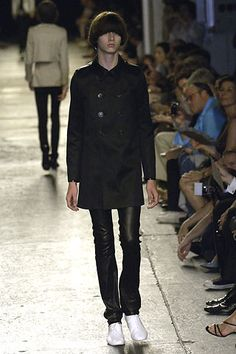 Hedi <wbr>Slimane:DIOR <wbr>HOMME <wbr>2007春夏巴黎时装周