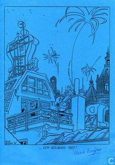 Carte postale - Franka - Een gelukkig 1987