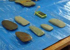 石斧づくり2009
