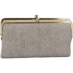 Hobo International Lauren Stingray Leather Clutch Bag    j.Ashley Boutique 904-388-2118