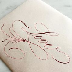 285 mentions J'aime, 21 commentaires - Esther Thiel ( - etiketten - Chemistry Informations Flourish Calligraphy, Copperplate Calligraphy, Calligraphy Words, How To Write Calligraphy, Calligraphy Handwriting, Calligraphy Alphabet, Penmanship, Cursive, Tattoo Lettering Fonts