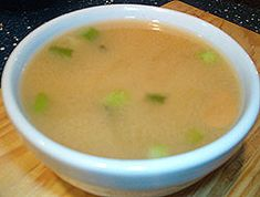 Basic Vegetarian Miso Soup Recipe