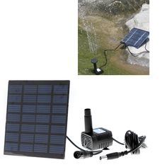 Solar Power Water Pump