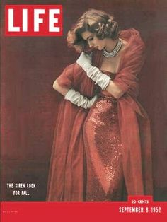 Suzy Parker on the cover of Life magazine, September 1952.