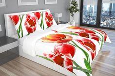 Tulipánové obliečky, ktoré rozjaria spálňu! Potešili by Ťa? ;-)