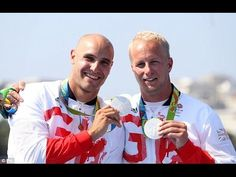 Great Britain's Liam Heath and Jon Schofield take silver in Olympic men'...