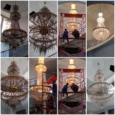Urban Life Indonesia 08118277272 jasa membersihkan lampu kristal, service lampu kristal dan jasa pemindahan pemasangan baru di seluruh jabodetabek, cikarang dan banten