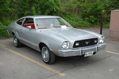 1978 Ford Mustang II Fastback Maintenance of old vehicles: the material for new cogs/casters/gears/pads could be cast polyamide which I (Cast polyamide) can produce