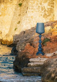 """""""Charming and refined with perforated surface recalls the elegance of lace."""" It's a floor lamp made of transparent or colored thermoplastic technopolymer. It is proposed in different colors. Available in indoor and outdoor versions. #moderndesign #interiorarchitecture #lightingdesign #lamp #decor #interiorstyling #interiorandhome #livingroomdecor #moderninterior #lightingdesigner #roominterior #exteriorinspo #kartell #floorlamp #interiordeluxe #homedecor #interiordesign #interiororders Modern Interior, Interior Styling, Interior Architecture, Lamp Design, Lighting Design, Lourdes, Kartell, Modern Floor Lamps, Types Of Furniture"""