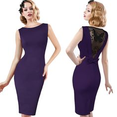 New 2017 Women Sexy Elegant Sleeveless lace hook flower Back Bow Butterfly Lace Party Pencil Vestidos Bodycon Dress TS068