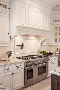 images about Kitchens Stove Focal on Pinterest
