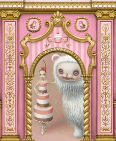 Mark Ryden Designs Sets, Costumes for Ballet 'Whipped Cream' | Hi-Fructose Magazine