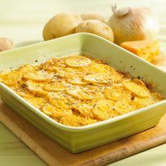 Quick & Healthy Potato Casserole! #recipe #quick #healthy #potato #casserole #holiday #family #easy
