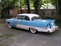 1956 Plymouth Savoy. Almost bought one of these in high school. To this day regret not doing it.