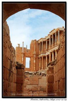 Roman Ruins in Sabratha, Libya