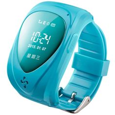 Walsoon Q50 Kids GPS Tracker Smart Watch Double Locate Remote Monitor SOS Wristwatch Anti Lost for Child (Blue). Real-timeTracking:GPS+LBS+AGPS. Voice call :the watch can call two numbers, and it can receive 8 pre-set call. Take-off alarm :When your child wear it over3 minutes, when it take it off, it will alarm to the paltfom. One way listing: you can set the listing call to listen what happened around your children. History playback: you can check the last three months history...