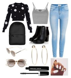 """""""Untitled #157"""" by faithkitty ❤ liked on Polyvore featuring Rains, Dolce&Gabbana, Topshop, Christian Dior, Bebe and Marc Jacobs"""