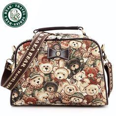 DAKA BEAR Fashion Jazz Bag Commuter Bag Tote Clutch Bag Trolley Bags