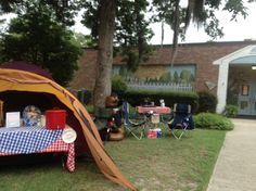 Outdoor Camp High Five display for Summerville Elementary. We love it!