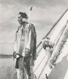 Rides At The Door - Blackfoot - circa 1935. This was taken 3 years after I met him. JKR