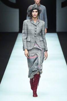 Giorgio Armani Autumn/Winter 2018 Ready To Wear | British Vogue