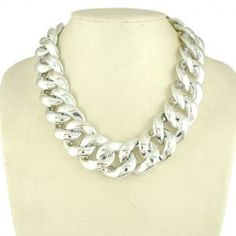 Characteristic Hot Sale Metal Embellished Chain Necklace