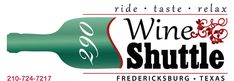 290 Wine Shuttle in Fredericksburg TX visits all the wineries along the 290 Wine Trail.