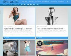 WP Theme Of the Day #200 – SympaGrid – Responsive Grid WordPress Theme