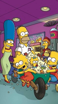 The simpsons WallpaperYou can find The simpsons and more on our website.The simpsons Wallpaper Simpson Wallpaper Iphone, Cartoon Wallpaper Iphone, Mood Wallpaper, Simpsons Funny, Simpsons Art, The Simpsons Tumblr, Lisa Simpson, Los Simsons, Wallpaper Iphone Disney