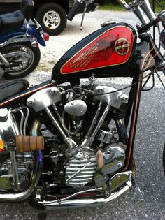 #HD #knuckle #shovel rear end in the back ground....#vintage #Ironhorse