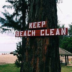 Keep hawaiis beaches clean