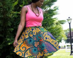 AKOFENA Flare Skirt