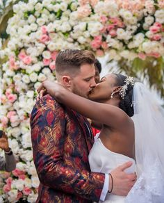 Wedding Blog, Our Wedding, Dream Wedding, Wedding Dreams, Interracial Family, Black Woman White Man, African Tops, Ever After, Marriage
